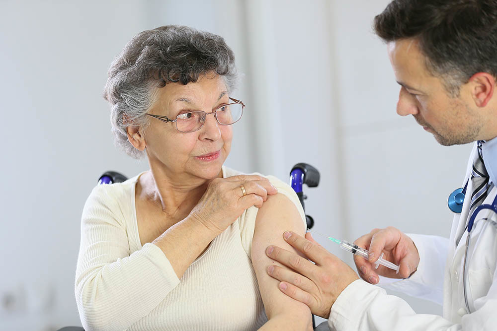 Vaccino antinfluenzale Anziani Malattie respiro